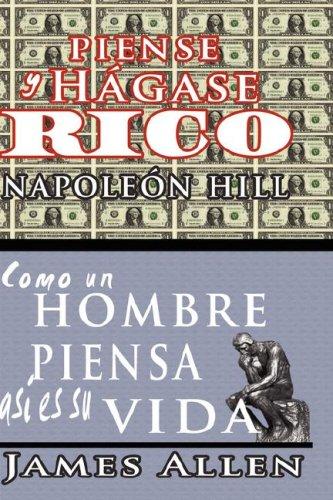 Piense y Hgase Rico & Como Un Hombre Piensa Asi Es Su Vida 9789562913416