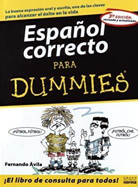 Espanol Correcto Para Dummies 9789580467380
