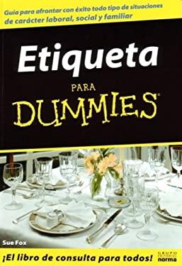 Etiqueta Para Dummies 9789580480945