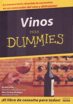 Vinos Para Dummies 9789580460916