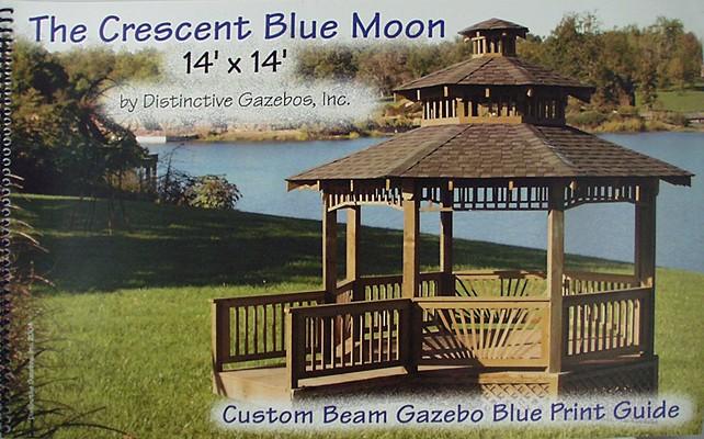 The Crescent Blue Moon: Custom Beam Gazebo Blue Print Guide