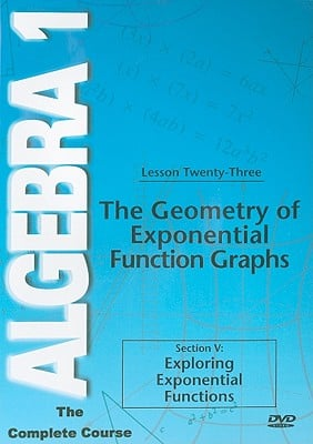 The Geometry of Exponential Function Graphs: Section V