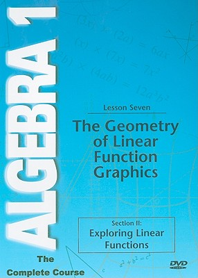 The Geometry of Linear Function Graphics, Lesson Seven: Section II: Exploring Linear Functions