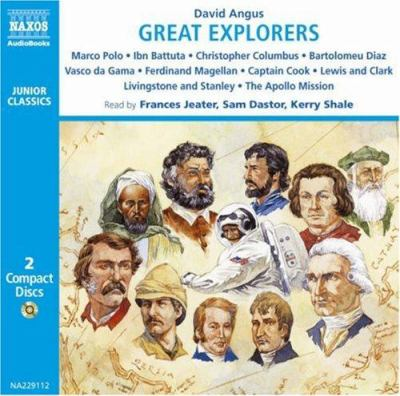 Great Explorers: Marco Polo - Ibn Battuta - Vasco Da Gama - Christopher Columbus - Ferdinand Magellan - Captain Cook - Lewis and Clark 9789626342916