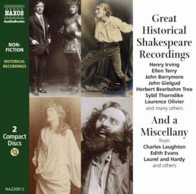 Great Historical Shakespeare Recordings 9789626342008