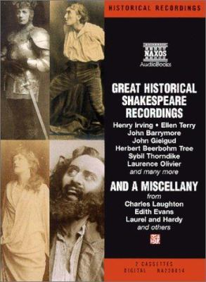 Great Historical Shakespeare Recordings 9789626347003