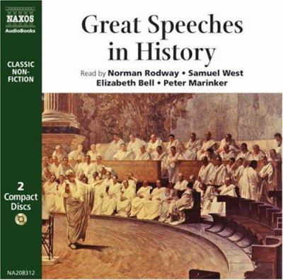 Great Speeches in History: Socrates, Cicero, Martin Luther, Elizabeth I, Charles I, Oliver Cromwell, Abraham Lincoln, Emmeline Pankhurst, and Man 9789626340837