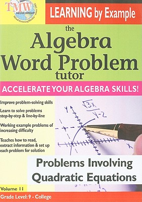 Problems Involving Quadratic Equations