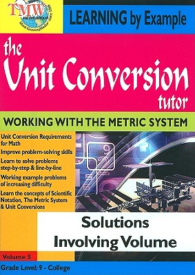 Solutions Involving Volume