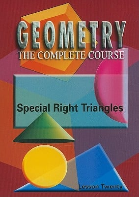 Special Right Triangles, Lesson 20