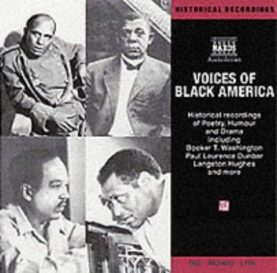 Voices of Black America: Historical Recordings of Speeches, Poetry, Humor & Drama 9789626347485