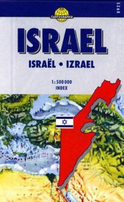 Israel: Scale 1:500,000 9789633529256