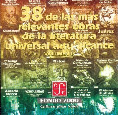 38 de las Mas Relevantes Obras de la Literatura Universal A Tu Alcance, Volumen 2 9789681662950