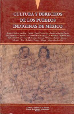 Cultura y Derechos de Los Pueblos Indigenas de Mexico 9789681649555