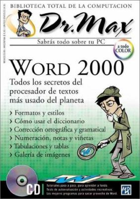 Dr Max Word 2000 [With CDROM] 9789685347273