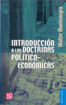 Introduccin a Las Doctrinas Pol-Tico-Econmicas 9789681606091