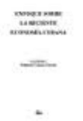 La Economia Cubana a Principios del Siglo XXI 9789681212872