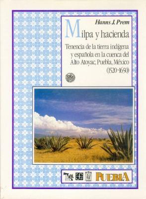 Milpa y Hacienda: Tenencia de la Tierra Indigena y Espanola en la Cuenca del Alto Atoyac, Puebla, Mexico, 1520-1650 9789681630843