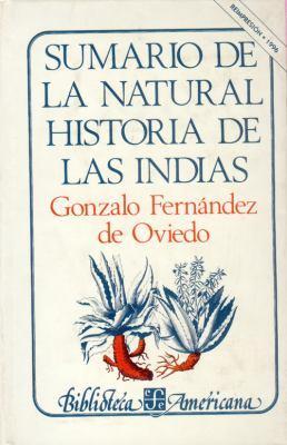 Sumario de La Natural Historia de Las Indias 9789681600921