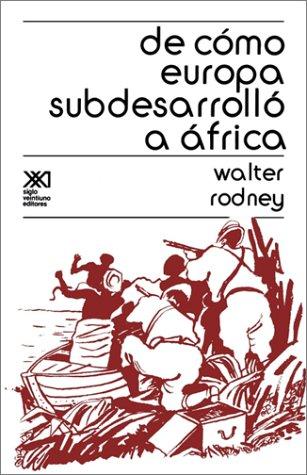 de Como Europa Subdesarrollo A Africa 9789682311574