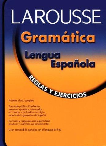 Gramatica Lengua Espanola: Reglas y Ejercicios 9789706077356