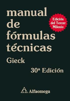 Manual de Formulas Tecnicas 9789701505984