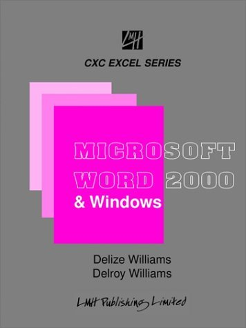 Microsoft Word & Windows for CXC Students & Beginners 9789766102883