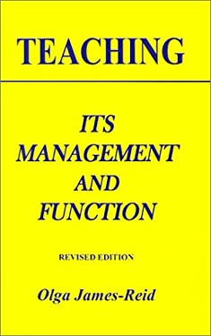 Teaching: Its Management and Function 9789768184092