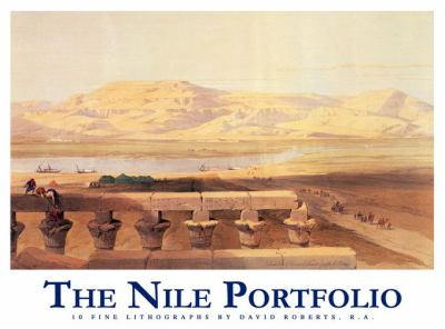 The Nile Portfolio: Ten Fine Lithographs 9789774163241