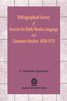 Bibliographical Survey of Sources 9789781211287