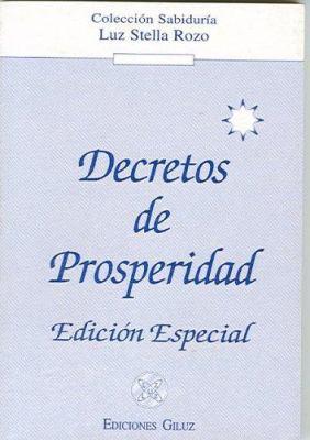 Decretos de Prosperidad