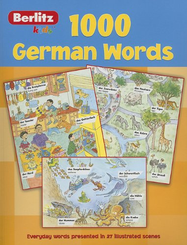 1,000 German Words 9789812465269
