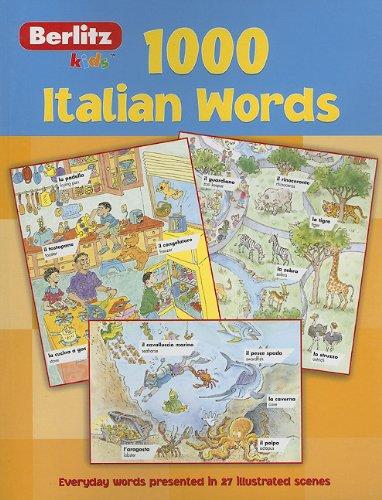 1,000 Italian Words 9789812465276