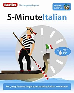 5-Minute Italian [With CD (Audio)] 9789812686251