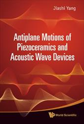 Antiplane Motions of Piezoceramics and Acoustic Wave Devices 8635149