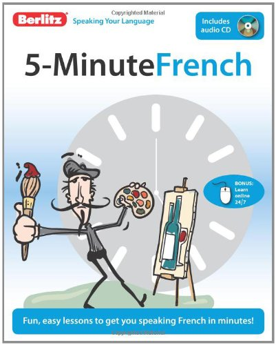 Berlitz 5-Minute French [With CD (Audio)] 9789812684578