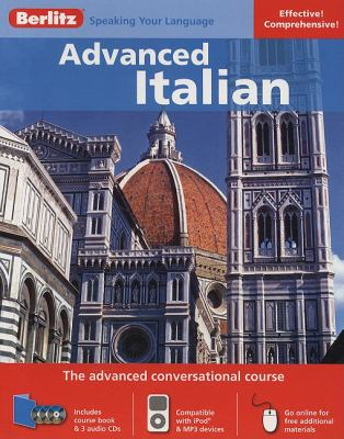 Berlitz Advanced Italian [With 136 Page Coursebook] 9789812683212