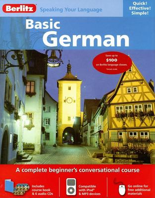 Berlitz Basic German [With 136 Page Book] 9789812682277