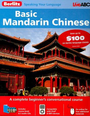 Berlitz Basic Mandarin Chinese [With 132 Page Coursebook] 9789812685087