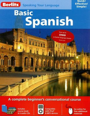 Berlitz Basic Spanish [With 136 Page Book] 9789812682291