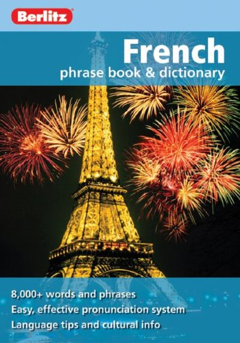 Berlitz French Phrase Book & Dictionary 9789812680303