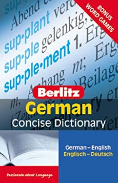 Berlitz German Concise Dictionary 9789812680167