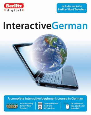 Berlitz Interactive German [With CDROM] 9789812685599