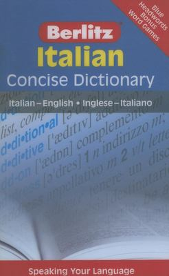 Berlitz Italian Concise Dictionary 9789812680174