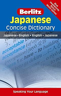 Berlitz Japanese Concise Dictionary 9789812680204