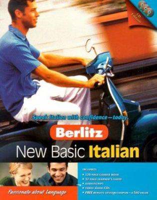 Berlitz New Basic Italian [With Course Book, Learner's Guide, Audioscript] 9789812460622