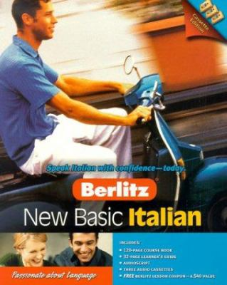 Berlitz New Basic Italian [With Course Book, Learner's Guide, Audioscript]
