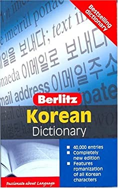 Berlitz Pocket Dictionary Korean-English 9789812465412