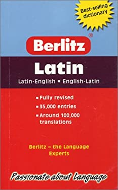 Berlitz Pocket Dictionary Latin-English 9789812464156