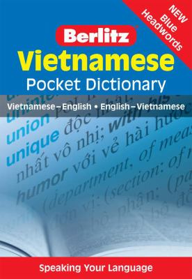 Vietnamese Pocket Dictionary 9789812682000